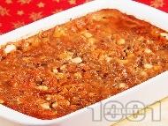 Рецепта Постен печен боб и леща яхния с домати и моркови в тава на фурна - магията на мама